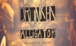 Schriftzug Bandname Drunken Alligator